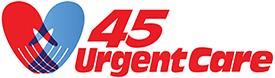 45 Urgent Care logo